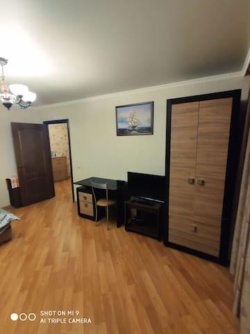 Просторная 2-х комнатная квартира 58 м²