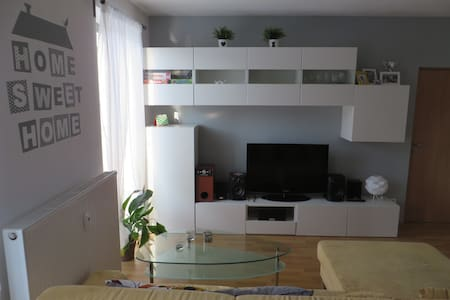 Apartment with grassy terrace - Brno - Appartement
