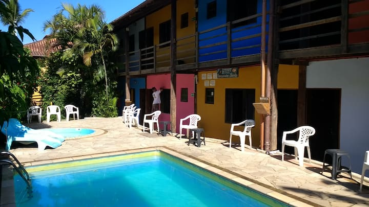 Get fun with us - Maresias Hostel (Apto Privativo)