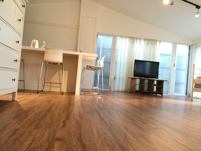 台北101信義安和捷運1分鐘MRT/獨戶WHITE HOUSE空中露台 - Da'an District - Appartement