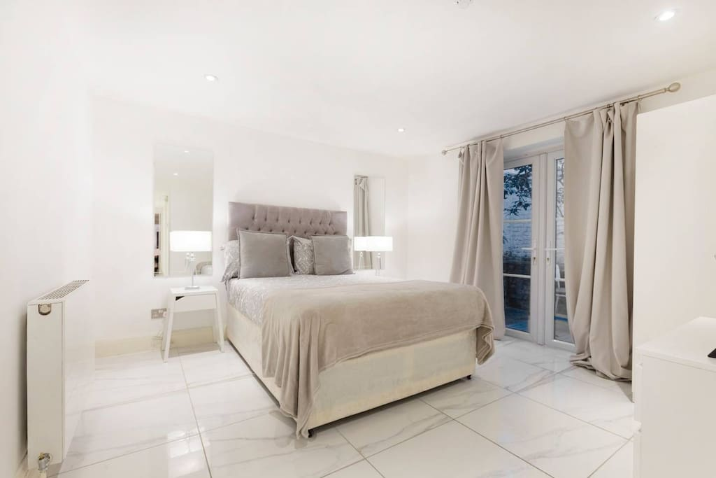 DOUBLE BED WITH PRIVATE TERRACE