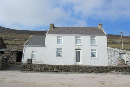traditional old Irish farmhouse - Huis