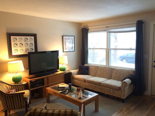 Comfortable Rambler near St Paul Historic District - Saint Paul - Talo
