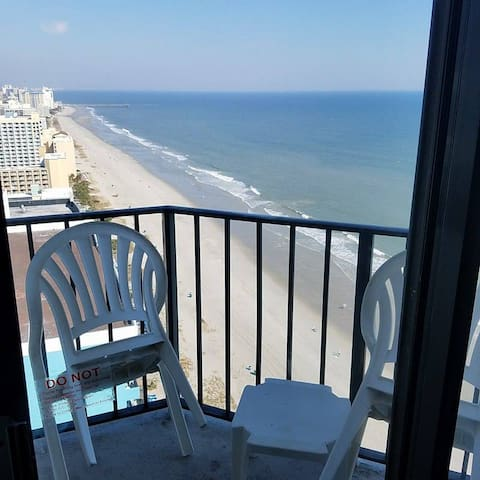 Stunning views from this top floor studio! (2306) - Myrtle Beach - Lyxvåning