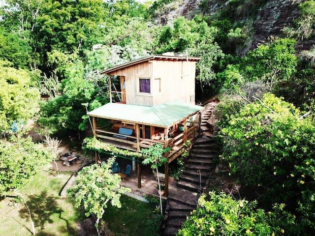 Cabaña Anacaona desde arriba