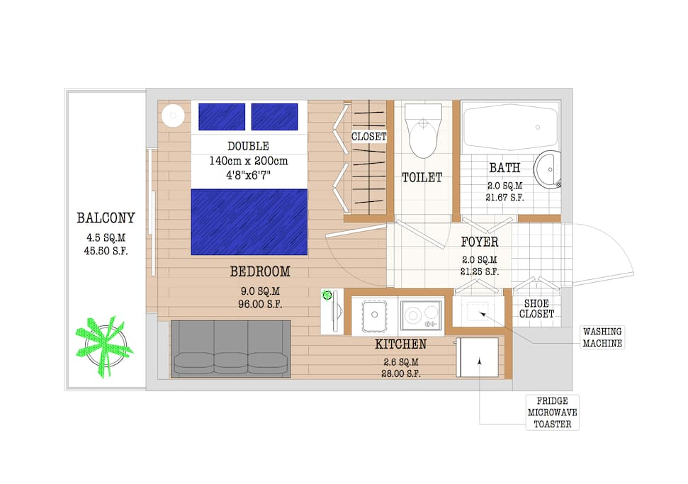 Brand new highendapartmentnearparkhyattshinjuku for Appartamenti giappone