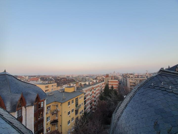 Loft apartment in the acient Budacastle area