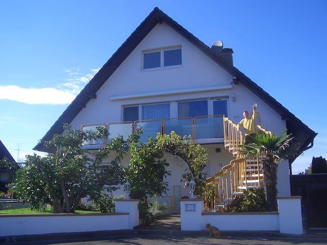 Ferienwohnung mit Balkon und Pool - Bad Krozingen - Wohnung