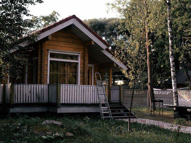 Деревянный домик в Зеленогорске