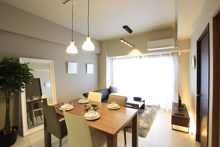 Like a Hotel★Luxury space☆6min to Nagoya station - Nishi Ward, Nagoya - Apartemen