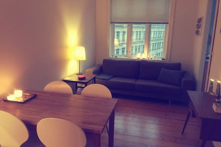 Cosy apartment near Sankt Hans Torv and Elmegade - Kopenhagen