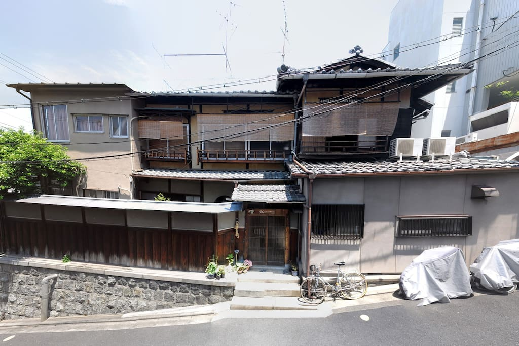 Japanese style wooden building (over 80 years)