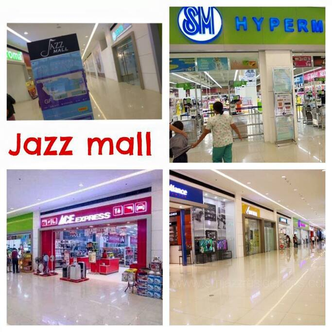 ground floor mall, supermarket, restaurants