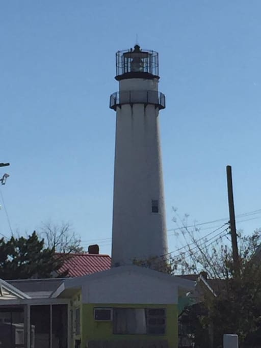 Another view of Fenwick Lighthouse