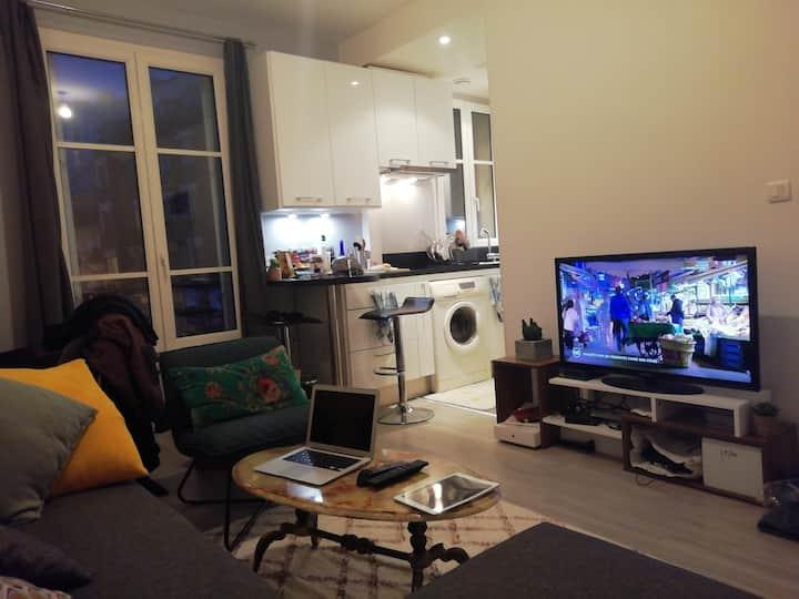 Appartement 2 pièces 10 min Paris St Lazare