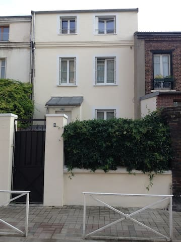 Charming 2 rooms with garden to 500 m - Montrouge - Lejlighed