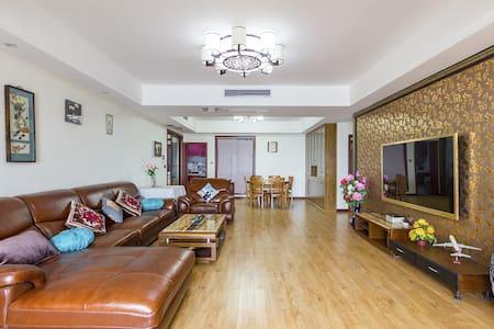 市中心人民公园宽窄巷子临地铁电梯3室2厅2卫加床可住8人 - Chengdu - Apartment
