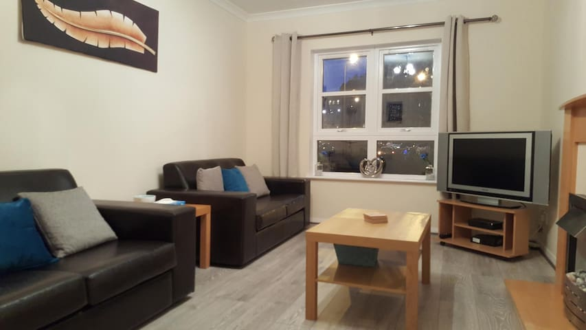 Central Edinburgh Apartment + Free parking