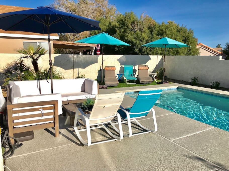 Luxury Two Bedroom Home With Pool Seasonal Houses For Rent In Las Vegas Nevada United States