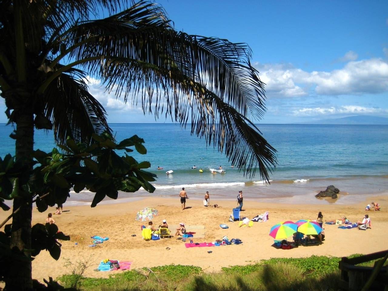 Our beach-beautiful, whitesand Kamaole 3 is just a few steps from our condo
