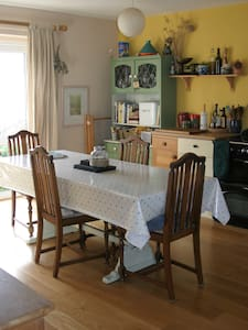Comfy Rm in arty home with parking - Penryn