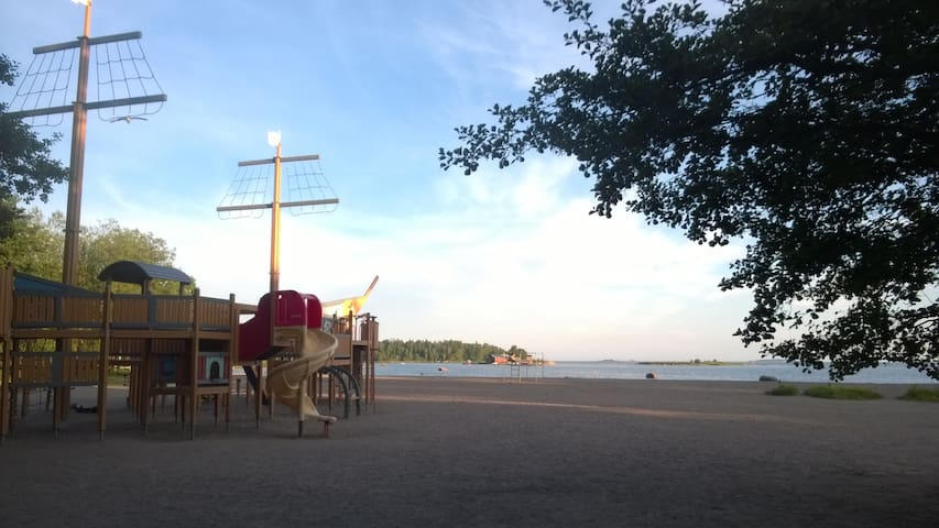 Family apartment next to center, close beach - Helsinki - Appartement