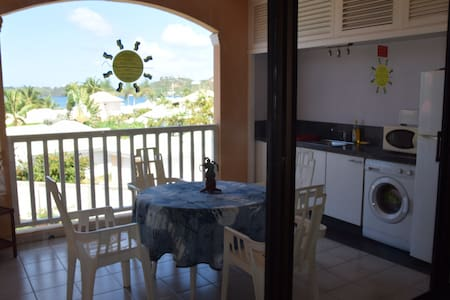Large apartment with beautyful view - Les Terres Basses - 公寓