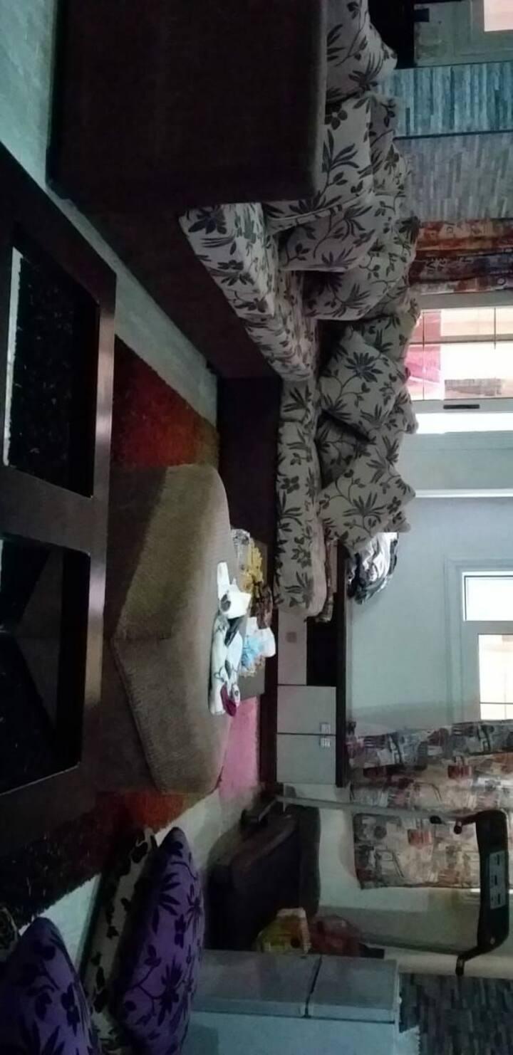 شقة ١٣٠ م مفروشة