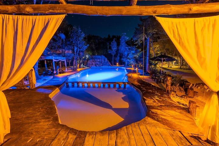 Master Suite para 6 @Jolie Jungle Puerto Morelos
