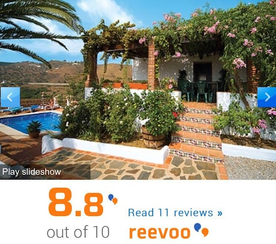 Rural holiday home Frigiliana - Frigiliana - Villa