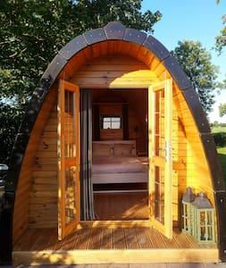 Ydillisch en comfortabel en vrij staand huisje