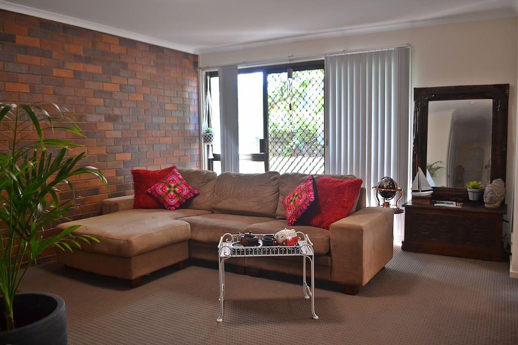 Living area.
