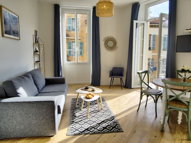 Charming appartment in the heart of Nice