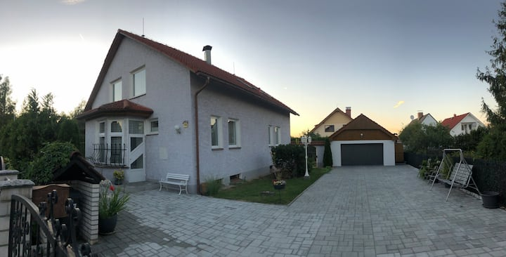 Guest room in house with garden in Doksy, CZ