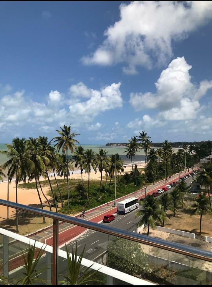 Apartamento na beira mar do Cabo Branco