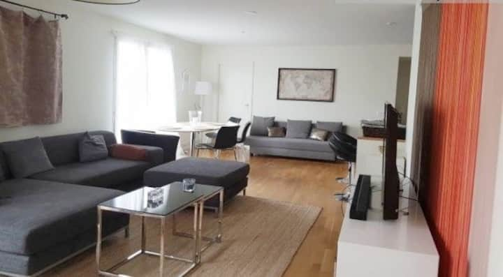 Spacious room in a very nice apartment