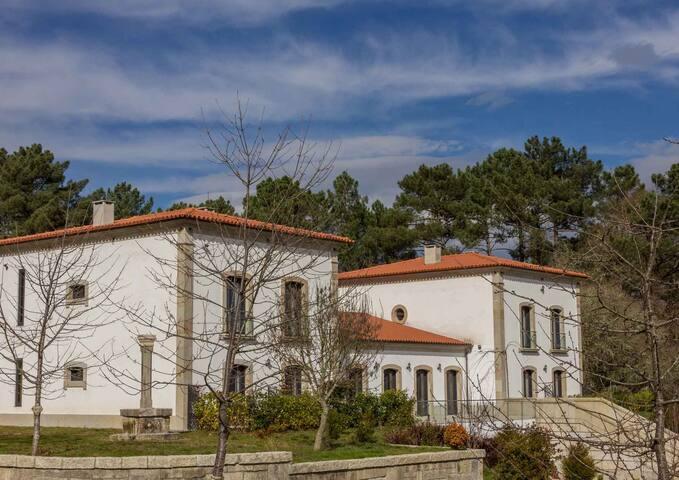 Habitación Doble Hotel de Naturaleza en Ourense