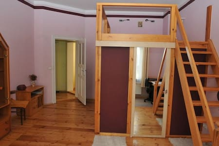 Spacious room for two with own closet and bedroom - Szczecin