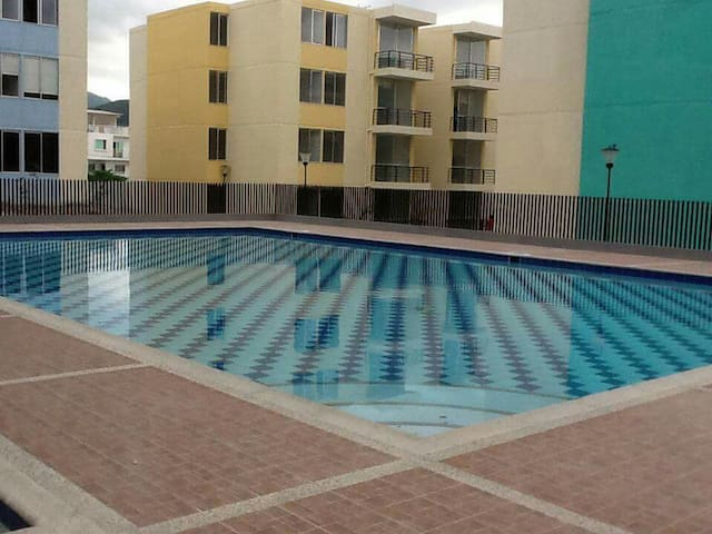 Beautiful 3-rooms apartment+pool! - Santamarta