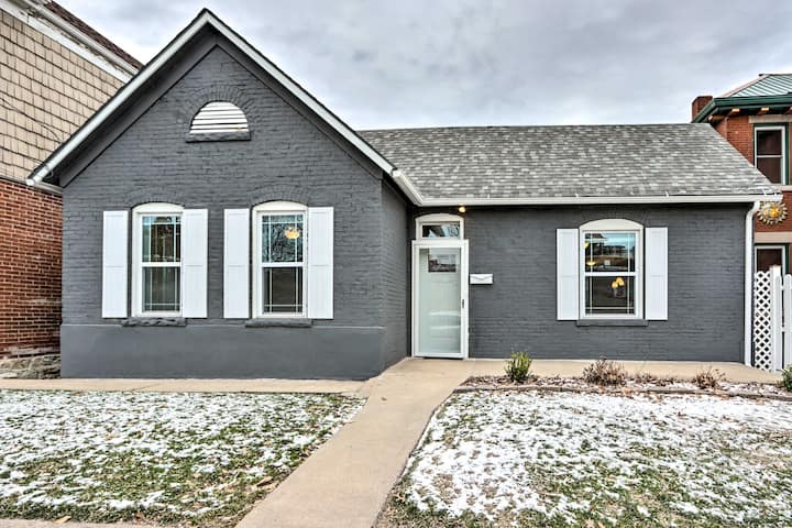 NEW! Modern Home w/ Yard < 1 Mile to the Capitol!