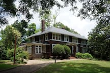 The Fitzgeralds lived at 919 Felder from the Fall of 1931 until the Spring of 1932.