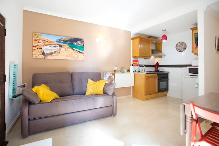 Cosy apt at the beach next to Palma - Palma - Leilighet
