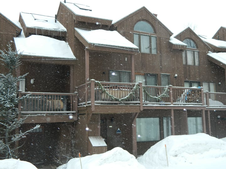 Ski In Ski Out, Newly remodeled condo, fireplace!