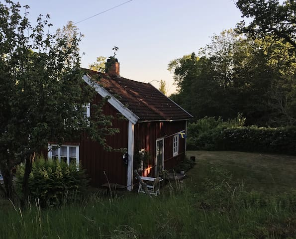 Cozy charming old Swedish cottage