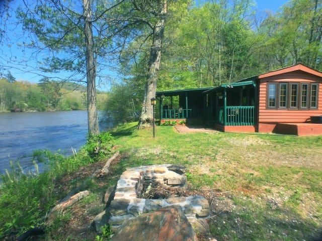 #1 River Cabin - Asheville River Cabins