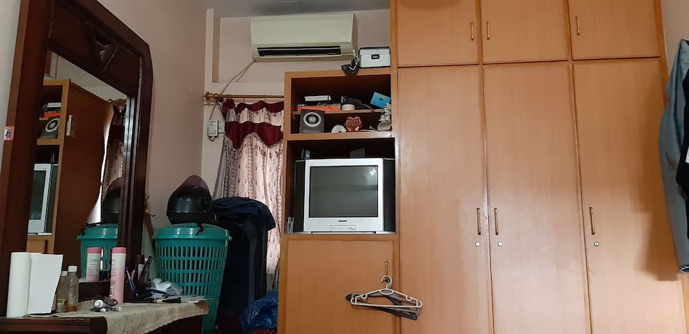 Fully furnished room with all basic necessities