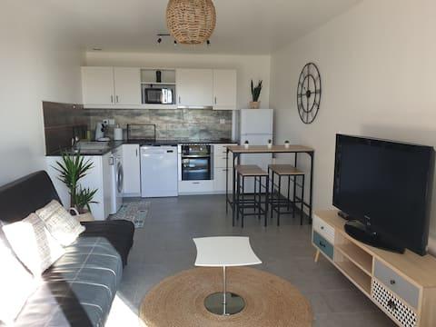 Bel appart neuf 37 m2 tout confort