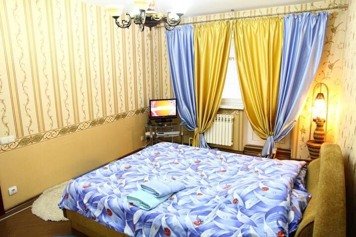Квартира 1-комнатная просторная и стильная