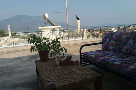 Beautiful studio with wonderful views - Kalamata