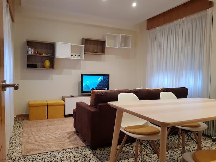 Apartamento en pleno centro de Baiona.